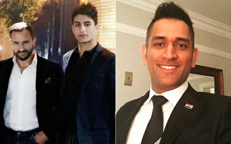 Saif Ali Khan's Son Ibrahim Ali Khan Seeks Inspiration From MS Dhoni; Shares A Post About Dreams And Targets