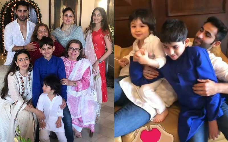 Ganesh Chaturthi 2020: Kareena Kapoor Khan, Saif Ali Khan And Taimur's Ganpati Celebrations At Bebo's Cousin Armaan Jain's House Over The Years