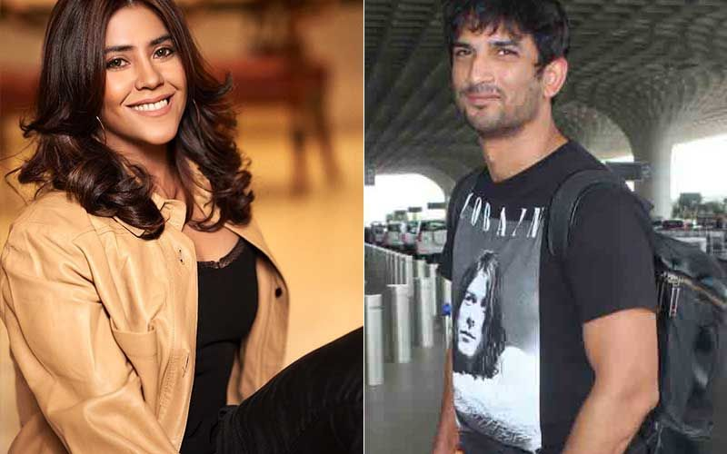 Ekta Kapoor Massively Trolled By Sushant Singh Rajput's Fans For Launching Mental Health Awareness Fund In Late Actor's Name
