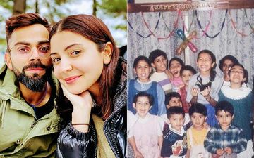 Friendship Day 2020: Anushka Sharma Shares A Cutesy Throwback Pic With Her Childhood Friends; Virat Kohli Loves It