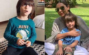 Gauri Khan Shares Adorable Pics Of Son Abram Khan Sketching; Has A Parenting Tip: 'Lockdown Is Definitely Not A Vacation'