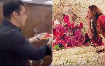 Ganesh Chaturthi 2020: Salman Khan And Iulia Vantur Welcome Bappa, Celebrate With Fervor At Sohail Khan, Arpita Khan Sharma's Houses