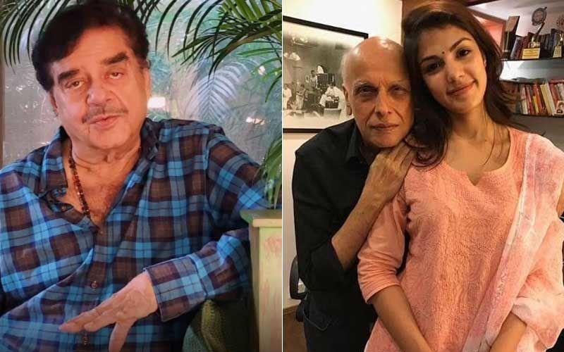 Sushant Singh Rajput Death: Shatrughan Sinha Questions Nature Of Rhea Chakraborty And Mahesh Bhatt's Relationship; Reports