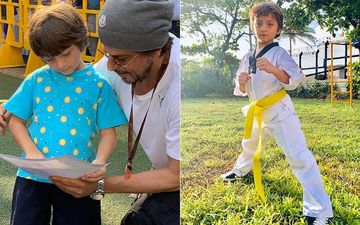 Shah Rukh Khan's Son AbRam Fights Like A Ninja In Throwback Video When He Won His First Gold; Proud Dad Couldn't Believe His Eyes-WATCH