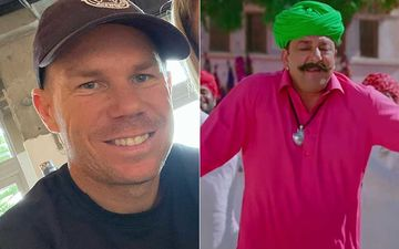 Cricketer David Warner Gets Into Sanjay Dutt's Character From film PK; Dances To Song Tharki Chokro Like A Pro