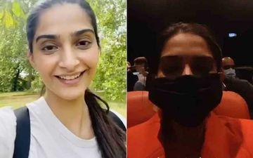 After Tom Cruise, Sonam Kapoor Now Watches Tenet At A London Theatre; Says 'The Big Screen Is Magic'