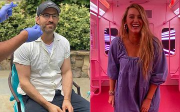 Ryan Reynolds Shares COVID-19 Swab Test Experience With Pics Clicked By Wife Blake Lively; Says 'Docs Don't Buy Dinner First'