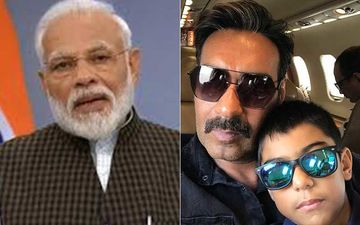 Prime Minister Narendra Modi Is Impressed By Ajay Devgn's Son, Yug As The 10-Year-Old Spent His Birthday Towards Greener Planet