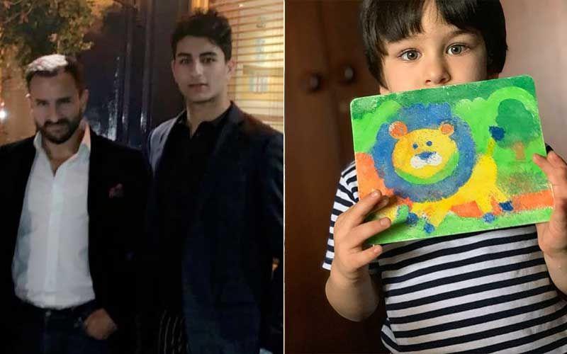 Saif Ali Khan's Son Ibrahim Ali Khan Has The Best Ever Reply To Kareena Kapoor Khan's Post On 'Little Picasso Taimur'