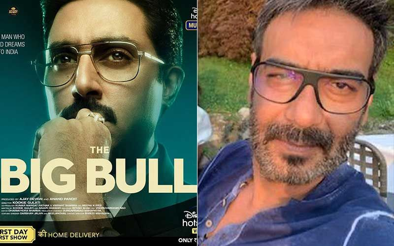 The Big Bull Teaser: Ajay Devgn Introduces Abhishek Bachchan In First Rushes Of The Film; Makers Reveal Trailer Release Date-WATCH Video