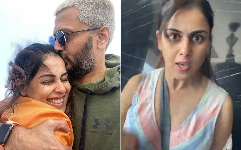 Genelia D'Souza Shares Throwback Video Of Riteish Deshmukh Greeting Preity Zinta At An Event; Gives Scary Visual Representation Of What Happened Back Home-WATCH