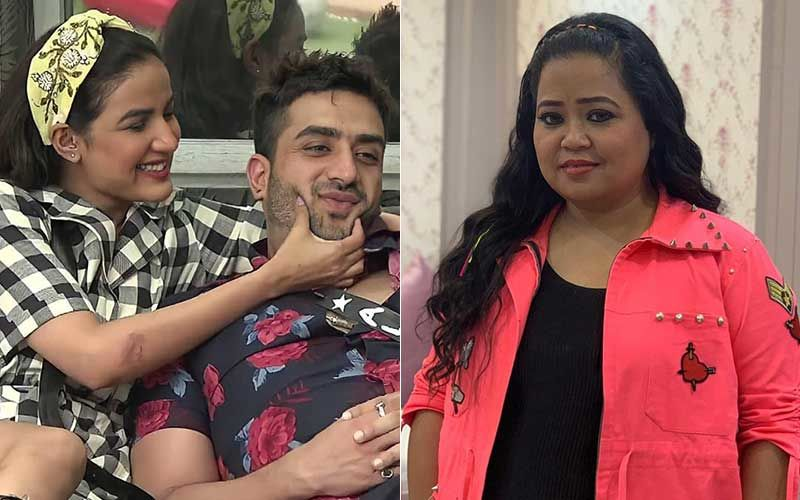 Bigg Boss 14 Fame Jasmin Bhasin Opens Up About Her Upcoming Projects During Live Stream; Surprises Fans With A Visit From Bharti Singh And Beau Aly Goni