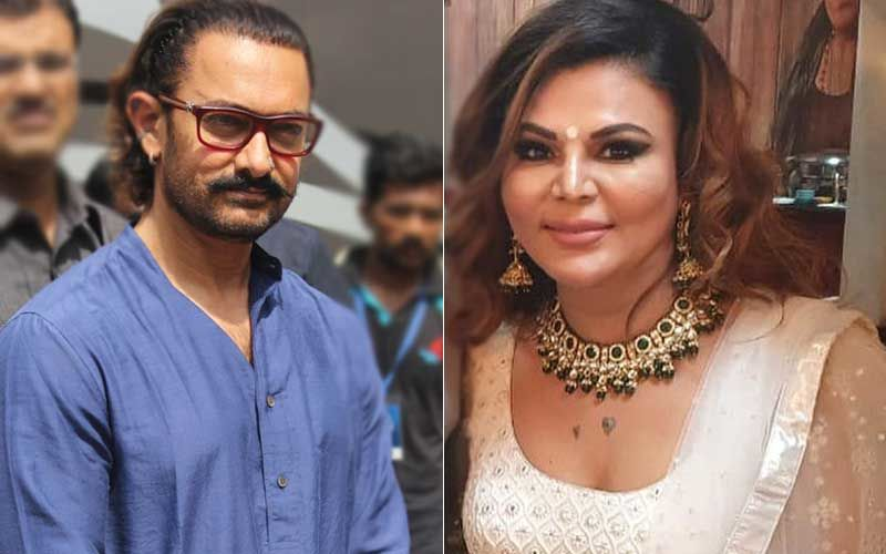 Aamir Khan Tests Positive For COVID-19: Rakhi Sawant Says 'Oh My God, This Is So Scary'; Bigg Boss 14 Contestant Reacts, 'Aamir Ji I Miss You'