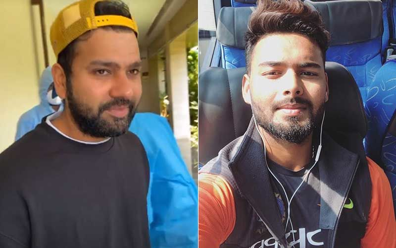 Rishabh Pant Asks Rohit Sharma 'Kaise Ho Bhaiya' While He Undergoes A COVID-19 Swab Test; Latter Has A Middle Finger Reply-WATCH Video
