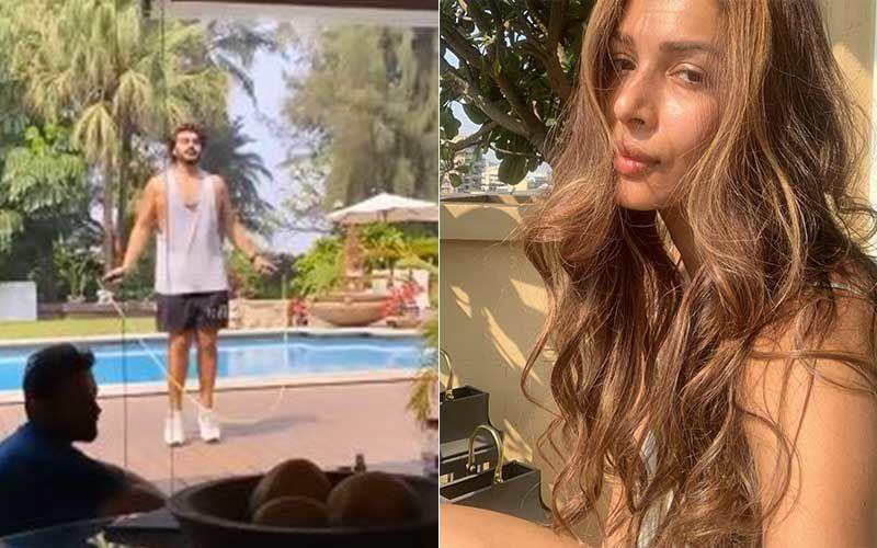 Holi 2021: Arjun Kapoor Jumps Rope And Exercises Giving Fitspiration On Holi; Ladylove Malaika Arora Says 'Let's Do This'