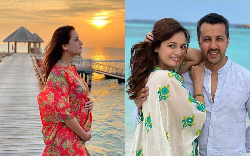 Dia Mirza Announces Pregnancy With A Surreal Sunset Photo Clicked By Hubby Vaibhav Rekhi; Flaunts Baby Bump, Says 'Blessed To Cradle This Purest Of All Dreams In My Womb'
