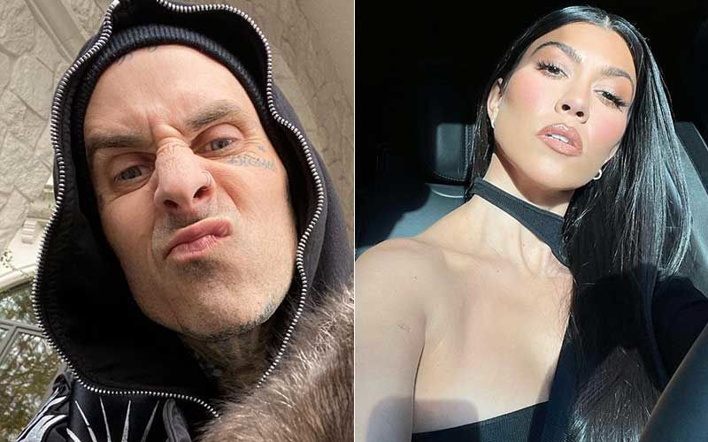 Travis Barker Tags Kourtney Kardashian In A Naughty Post; Shares A Pic Of Him, Fan Comments 'Someone Check On Scott Disick'