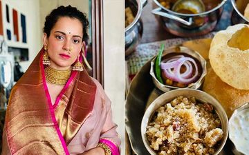 Kangana Ranaut Gets Trolled For Posting Pic Of Durga Ashtami Prasad With Onions; Netizens Term Her 'Anti-Hindu'; Actress Can't Believe Onion Is The Top Trends