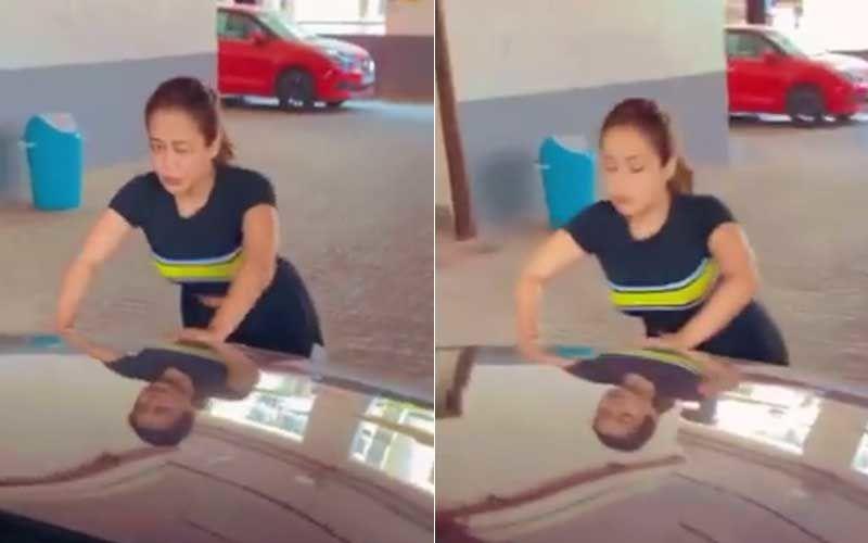 Neha Kakkar Performs Push-Ups Against Her Mercedes; Singer Says 'Time To Lose Those Kilos That I've Put On During Lockdown'