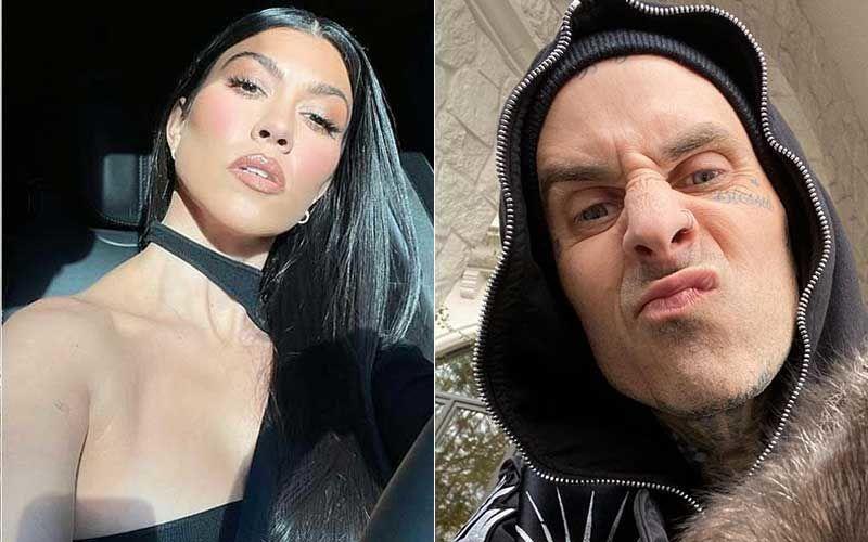 Kourtney Kardashian Feels 'Just Like Heaven' As She Passionately Locks Lips With Beau Travis Barker; They're Hooked In The Pic INSIDE
