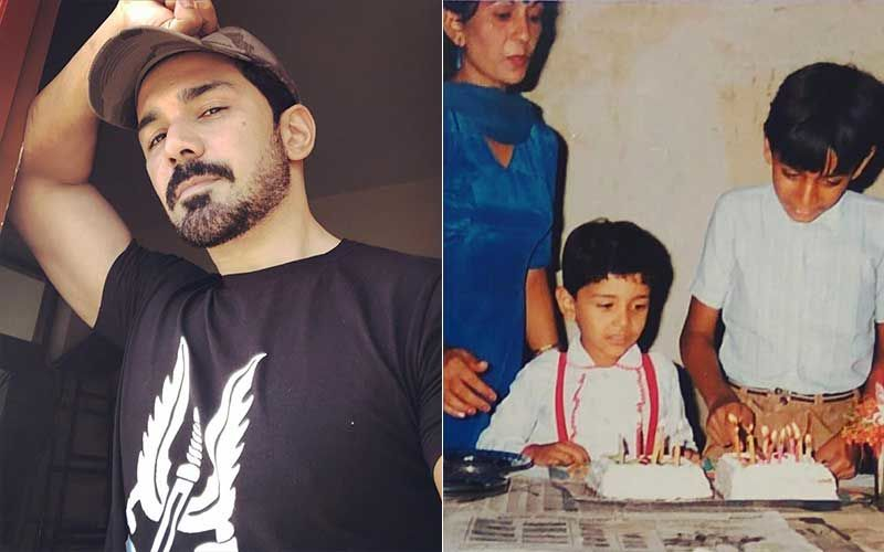Bigg Boss 14's Abhinav Shukla Reveals His Mom Always Had The Best Idea To Club Birthdays; Shares Childhood Pic With Brother And Him Celebrating