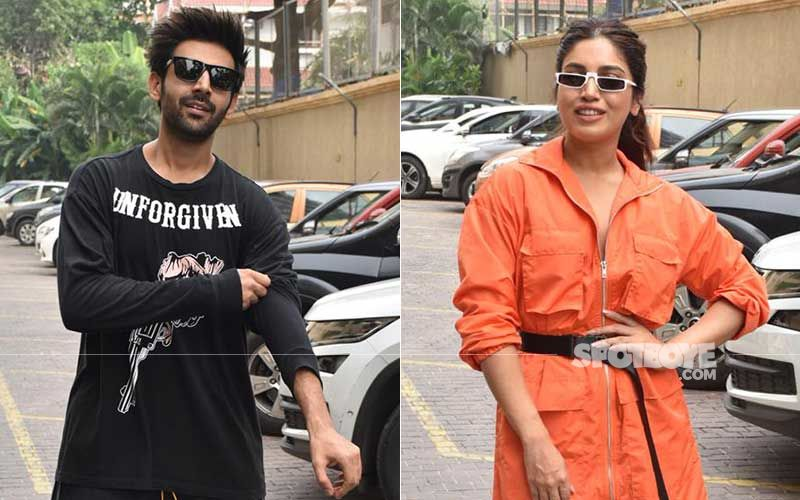 Kartik Aaryan Does A Thumbs-Up After Testing Negative; Says 'Now Passing The Baton On' To COVID-19 Positive Bhumi Pednekar