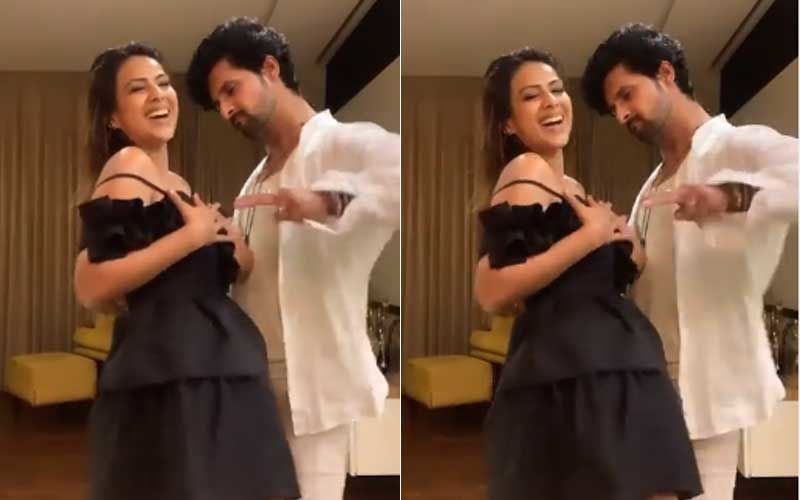 Nia Sharma And Ravi Dubey Set Screens Ablaze With Their Impromptu Dance Performance; Groove To The Beats Of 'Gang Gang' Song-WATCH Video