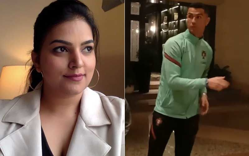 Apharan 2 Actress Snehil Dixit Mehra Goes Berserk After Spotting Cristiano Ronaldo In Serbia; Says 'Dhanya Bhaag Humare'-WATCH Video