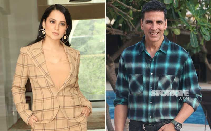 Kangana Ranaut Reveals Akshay Kumar Called And Praised Her After Watching Thalaivi Trailer; Blames It On Movie Mafia As Big Stars 'Can't Openly Praise'