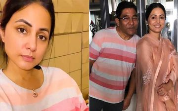 Hina Khan Dresses Up In Her Late Father's T-Shirt During Her Recent Live Session; Expresses How Much She Misses Him, Calls Herself 'Baba Ki Raani'