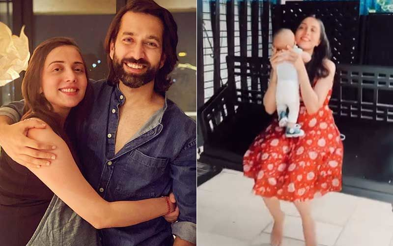 Nakuul Mehta's Wife Jankee Shares A Video Swinging With Son Sufi; Reveals She Took Little One To Her Parents Home For The First Time Since His Birth-WATCH