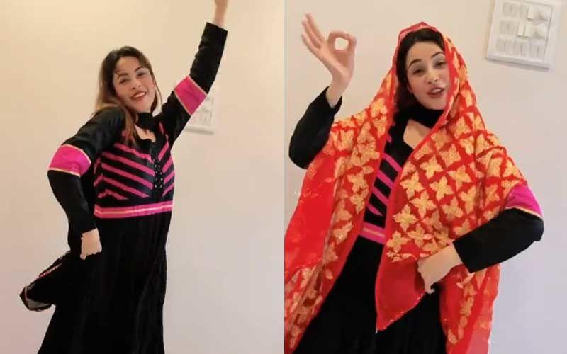 Bigg Boss 13 Fame Shehnaaz Gill Unleashes Her Inner Punjabi Girl While Dancing On Song 'Deor De Vyah Vich'; Netizens React 'Wow Punjaban Is Back'