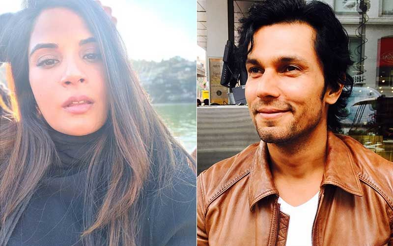 Richa Chadha Criticizes Randeep Hooda For His Casteist And Sexist Joke On Mayawati In An Old Video; Tweets 'It's Crass, Tasteless And Sexist'