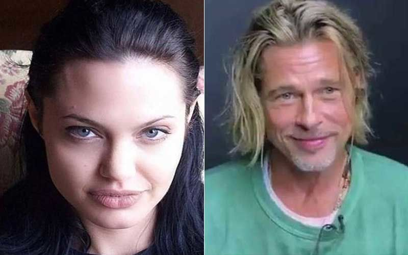 Angelina Jolie Putting Up A 'Struggling Single Mom' Act So Brad Pitt Goes Broke In Divorce Settlement? Read More HERE