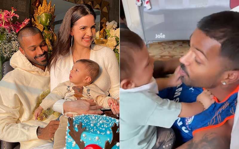 Hardik Pandya And Son Agastya Look Adorbs As They Bond In THIS Video; Natasa Stankovic Gives Sneak-Peek-WATCH