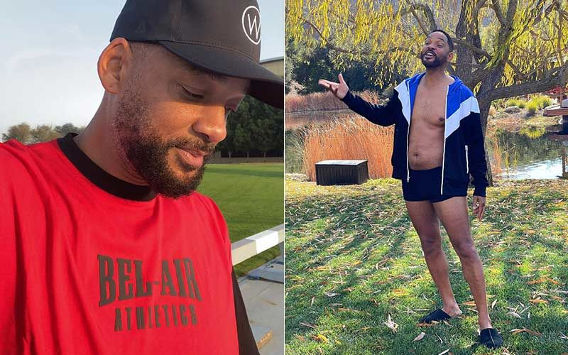 Will Smith Shows Off His Potbelly Wearing Almost Nothing; Shares A Glimpse, Says 'Love This Body, But I Wanna Feel Better'-WATCH