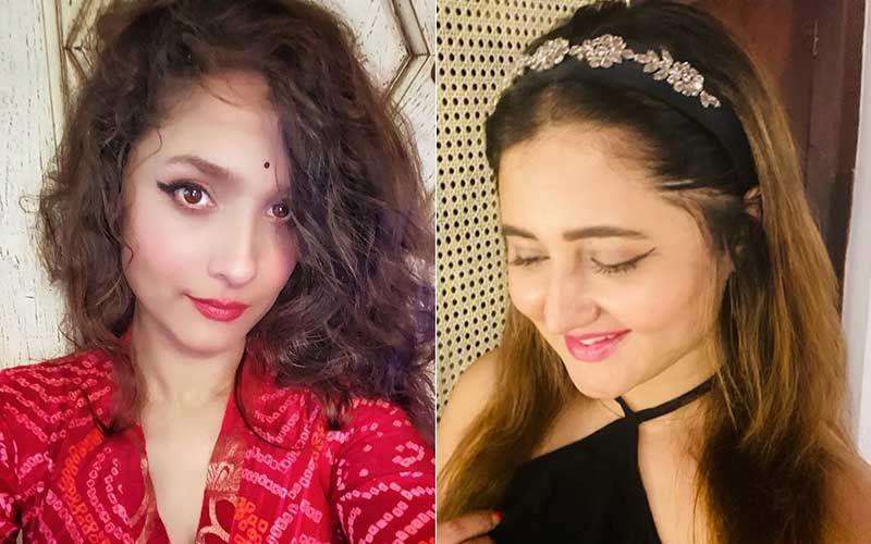 Ankita Lokhande Exudes Beauty In New Pic; Rashami Desai Comments, 'Kahan Chali Haryali Ban Kar'