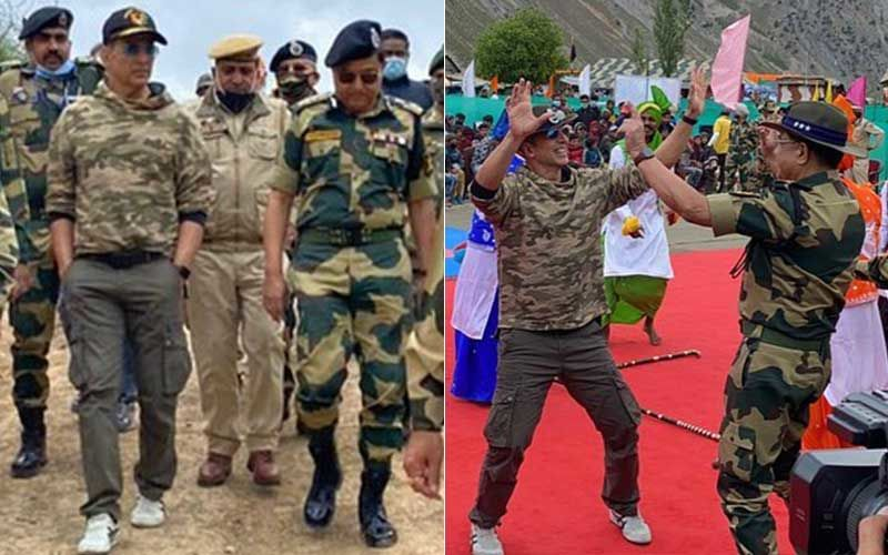 Akshay Kumar Says 'Coming Here Is Always A Humbling Experience' As He Spends A Memorable Day With The BSF Bravehearts; Actor Does Some Bhangra With The Real Heroes