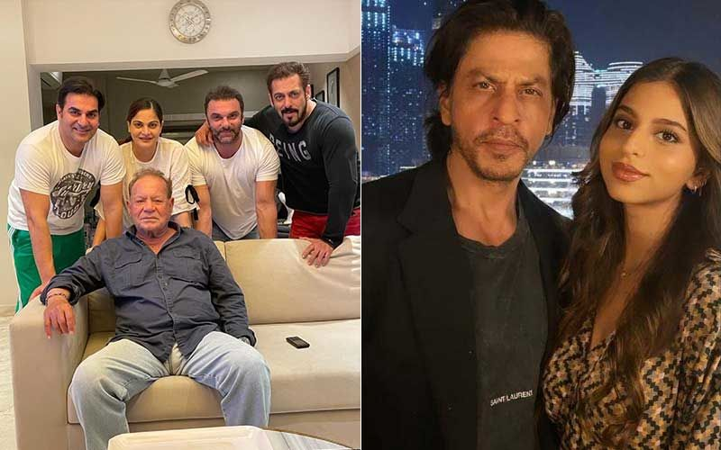 Father's Day 2021: Salman Khan Poses For A Group Pic With Dad Salim Khan And His Siblings; Shah Rukh Khan Says 'Miss You Baby' As Daughter Suhana Khan Wishes Him