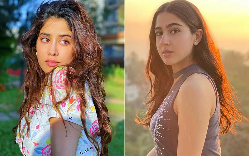 Janhvi Kapoor And Sara Ali Khan Are B-Town's New Pilates Buddies; Actors Clicked Post Rigorous Workout Session-WATCH Video
