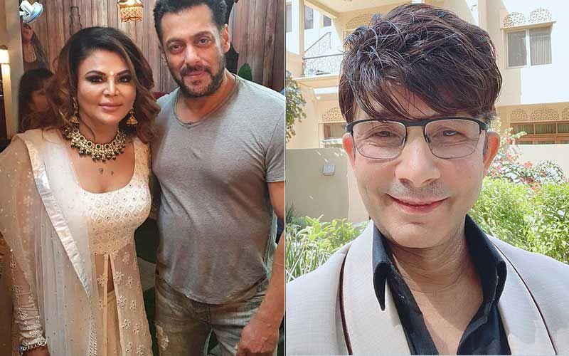 Bigg Boss 14's Rakhi Sawant Extends Support To Salman Khan In Legal Battle Against Kamaal R Khan: 'KRK Ek Number Ka Jhoota Aadmi Hai'