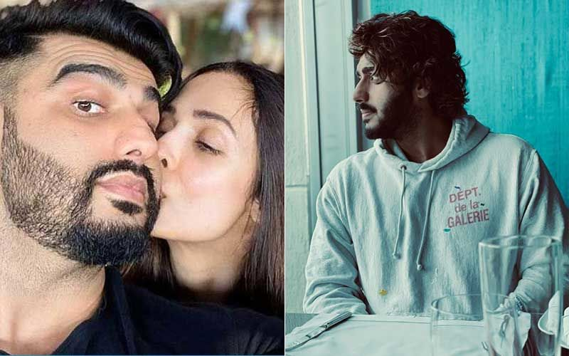 Malaika Arora Captures A 'Lost In Thought' Arjun Kapoor; Panipat Actor Thanks His 'Baby' For Supporting Him; He Says 'She Makes Me Look Good'