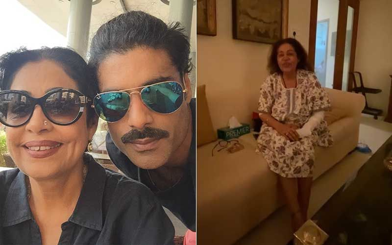 Kirron Kher Makes An Appearance In Clip Shared By Sikander Kher Amid Cancer Treatment; Actress Says 'Thank You Everybody For Your Good Wishes And Love'
