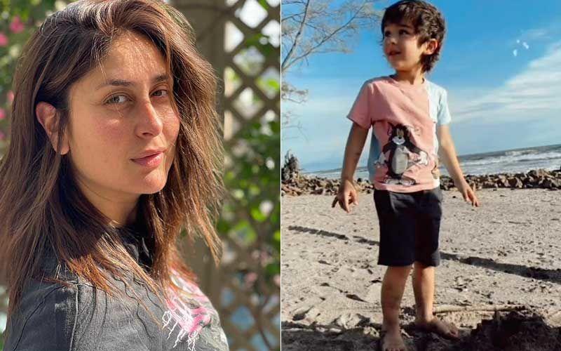 World Environment Day 2021: Kareena Kapoor Khan Shares Photos Of All Grown-Up Taimur Ali Khan Playing At A Beach; Says 'Protect Heal Love'