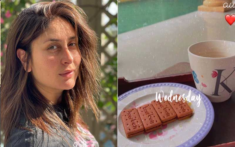 Kareena Kapoor Khan Enjoys A Cup Of Chai, Bourbon Biscuits On A Rainy Day; Gives Glimpse Of Her Simple Evenings