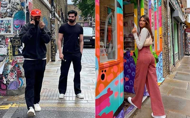 KL Rahul Roams With Rumoured GF Athiya Shetty's Brother Ahaan Shetty On London Streets; Shares 'Happy Vibes' Pics