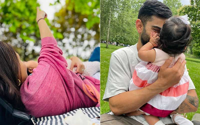 Anushka Sharma Shares New Unseen Photos With Baby Vamika; Virat Kohli And Actress Celebrate Six Months Of Little One's Birth
