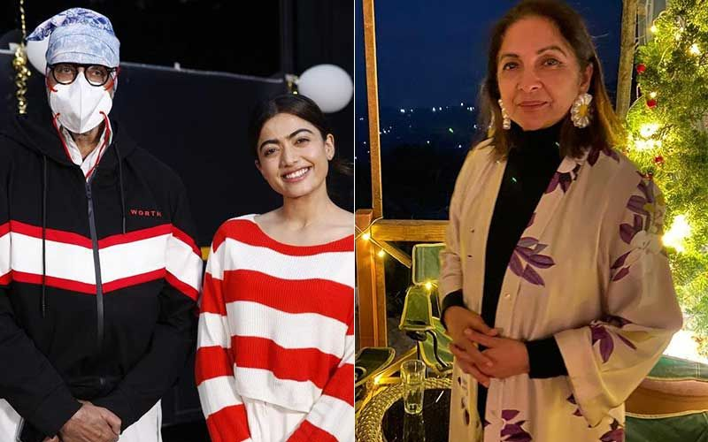 Rashmika Mandanna's Unseen Pic With Amitabh Bachchan From The Sets Of Goodbye Is Adorbs; Neena Gupta Says Her South Co-Star 'Is Very Cute'