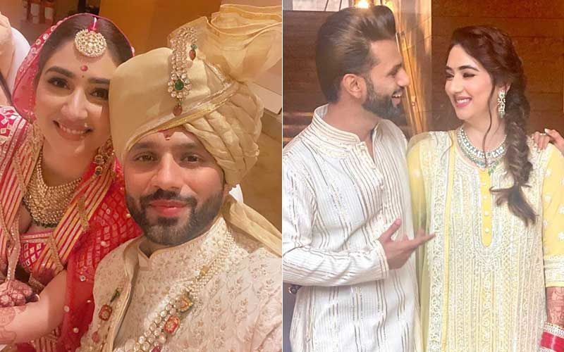 Rahul Vaidya Shares First Selfie With Disha Parmar As 'Mr And Mrs Vaidya'; Couple Looks Overjoyed In Photos From Post-Wedding Lunch