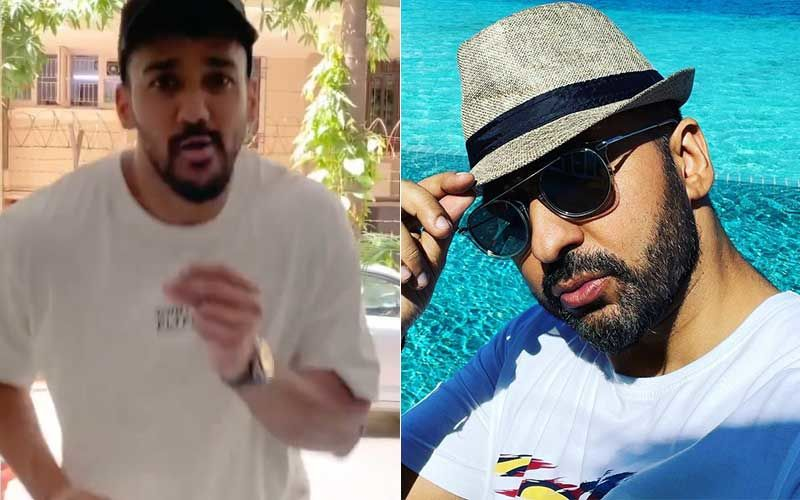 Anita Hassanandani's Husband Rohit Reddy Shares A Scary Fake Accident Video; Raj Kundra Reacts, His Fun Comment Will Crack You Up
